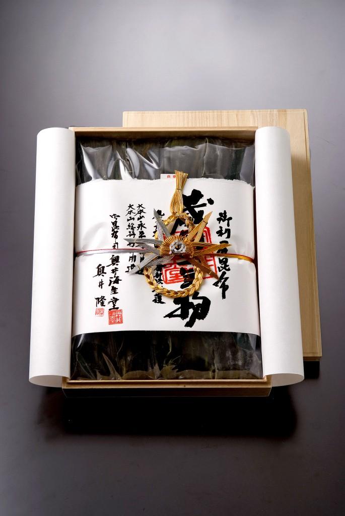 木箱入二年蔵囲利尻昆布OKU_100