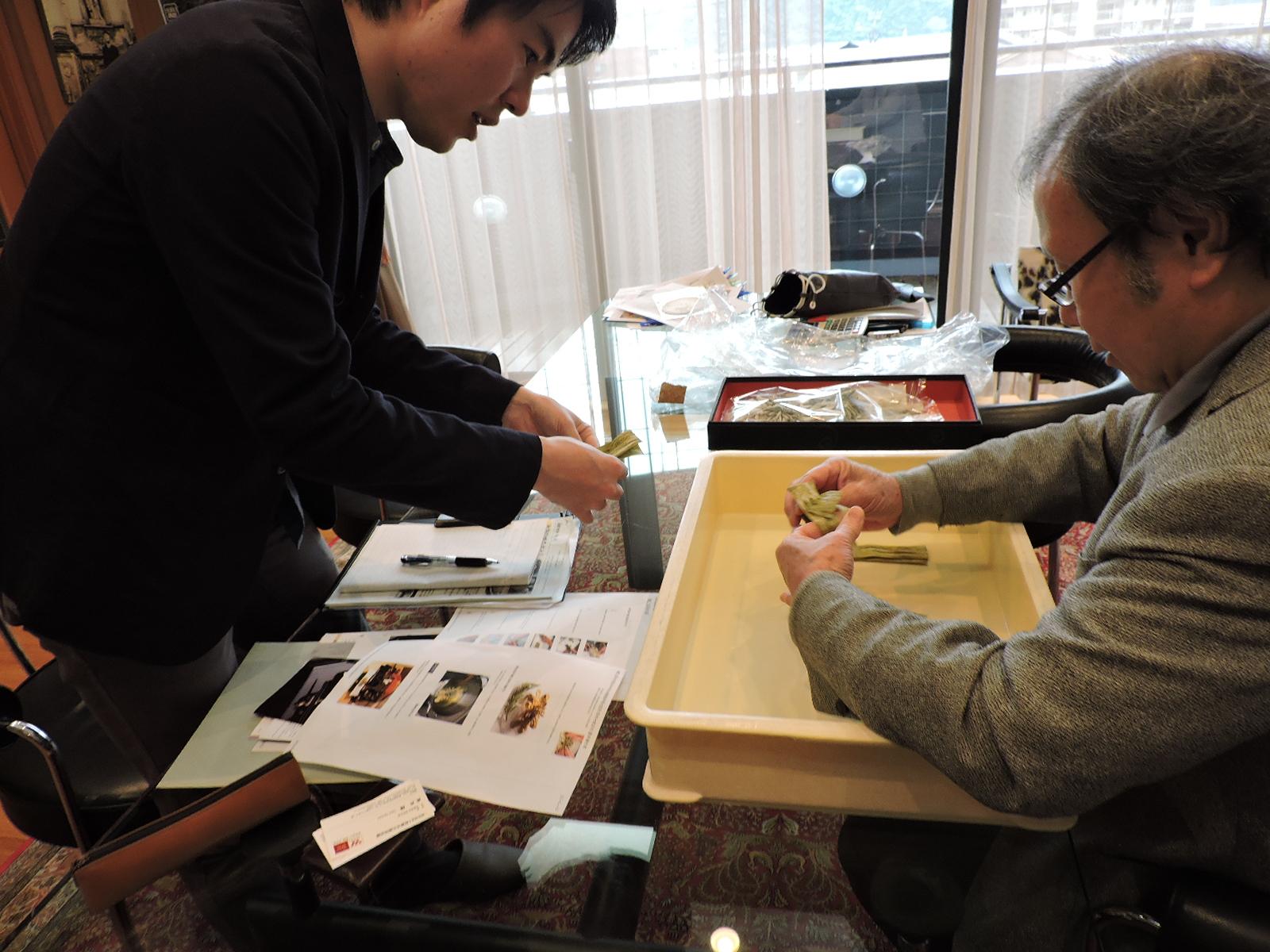 NHK福井局の取材がありました。 平成28年4月22日(金曜日)