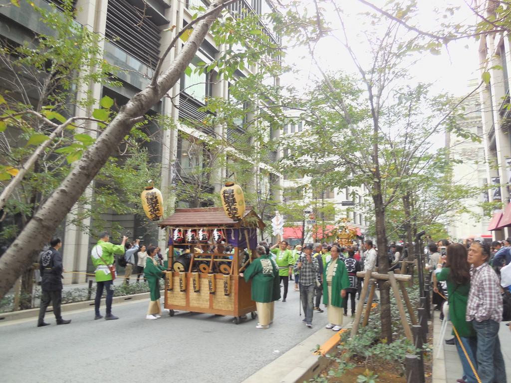 神田囃子の演奏