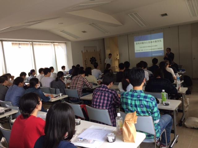 東京すし和食調理専門学校にて、社長の昆布の講義がありました。